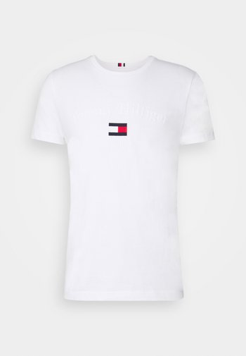 ARCHIVE GRAPHIC TEE - T-shirt med print - white