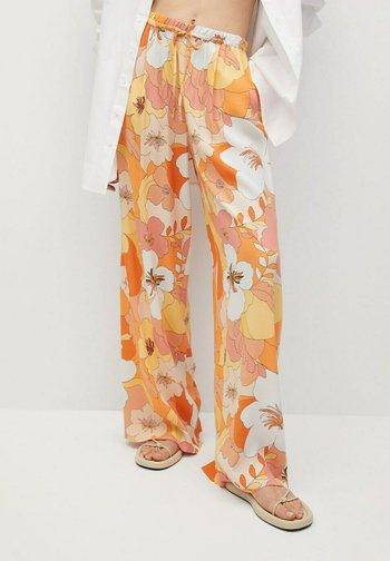 Trousers - naranja