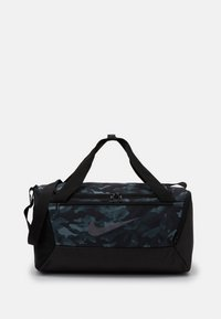 Nike Performance - DUFF UNISEX - Sports bag - light smoke grey/black/metallic cool grey - 1