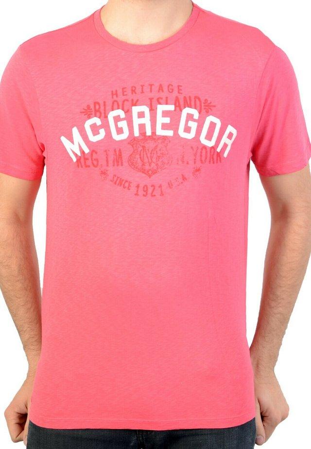MC GREGOR JOSUA - T-shirt imprimé - pink