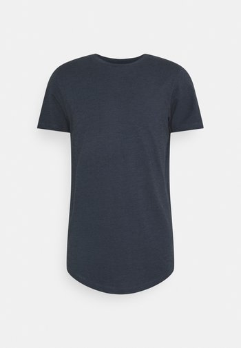 JORNOA STRUCTURE TEE CREW NECK - Print T-shirt - ombre blue