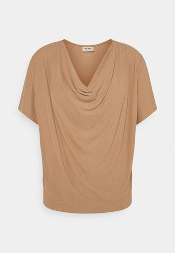 SAVINA TEE - Print T-shirt - toasted cocount