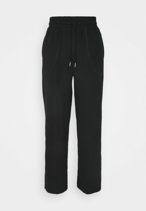 HER WIDE PANTS - Verryttelyhousut - puma black