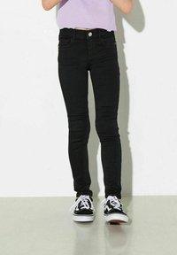 Kids ONLY - Džíny Slim Fit - black - 0