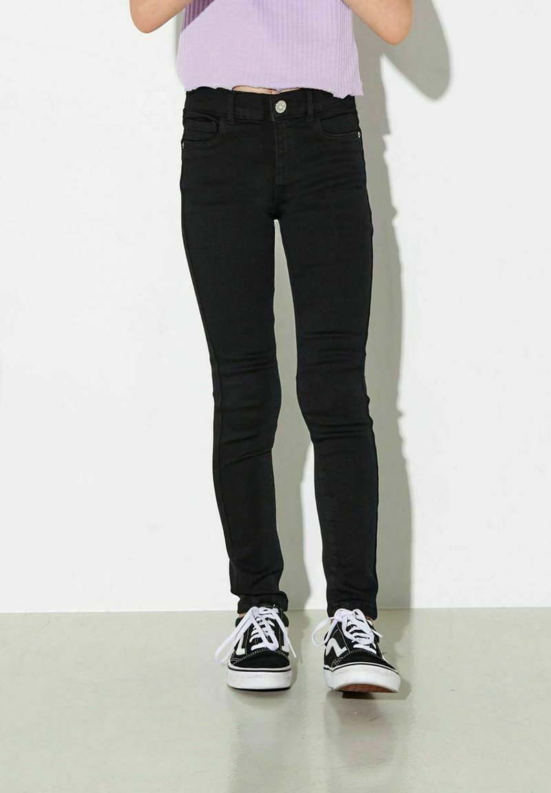 Kids ONLY - Slim fit jeans - black