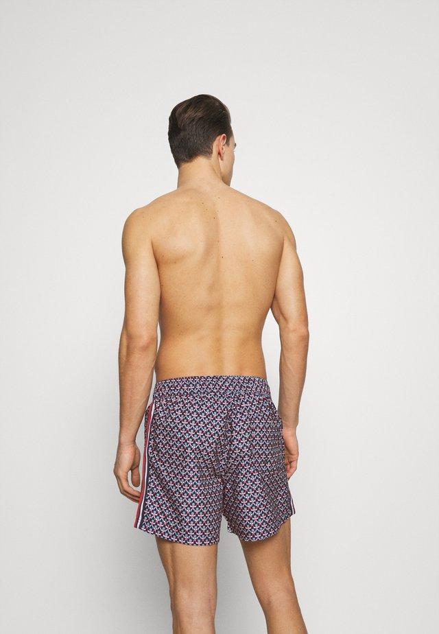 HORSESHOE BAY - Swimming shorts - navy/red
