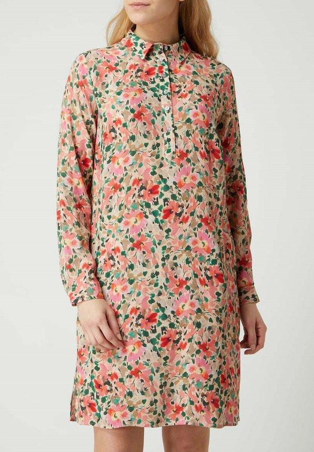 Shirt dress - floralmuster