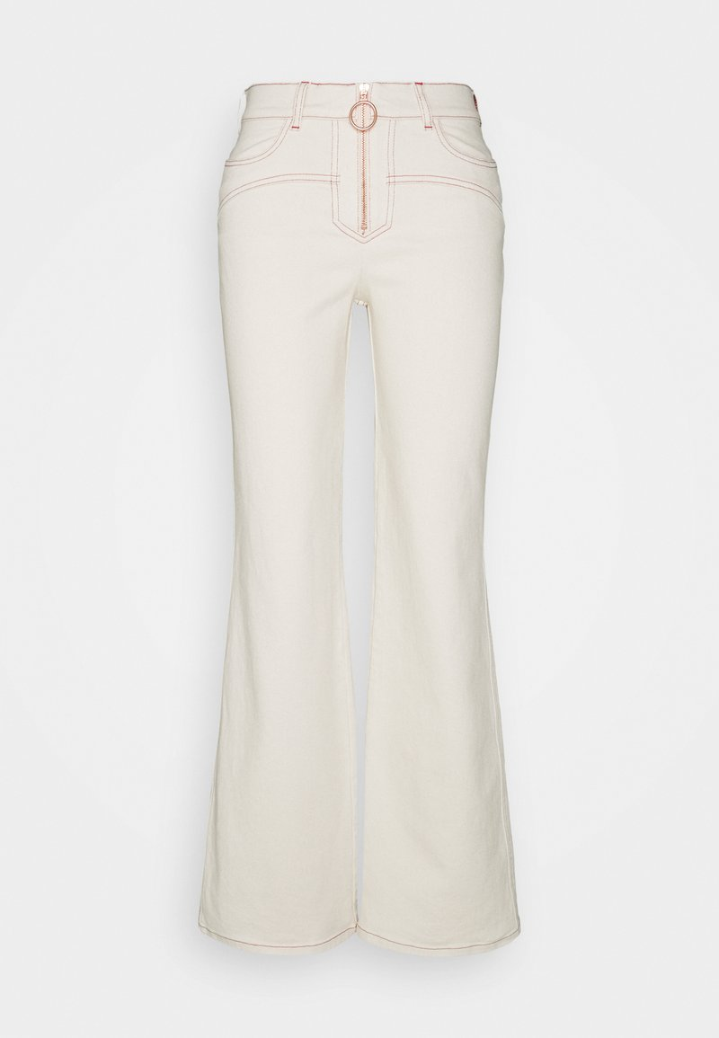 See by Chloé - Flared Jeans - buttercream
