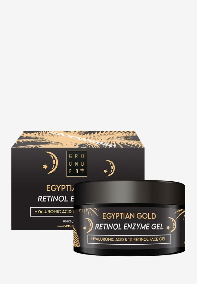 EGYPTIAN GOLD FACE GEL MASK - ANTI AGEING - Anti-Aging - gold