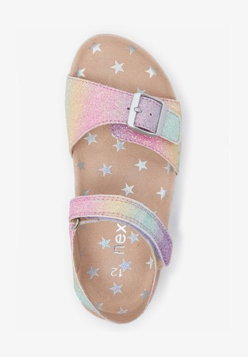 Sandals - multi-coloured