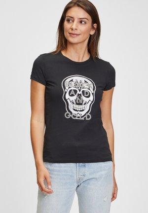 CORION - Print T-shirt - black