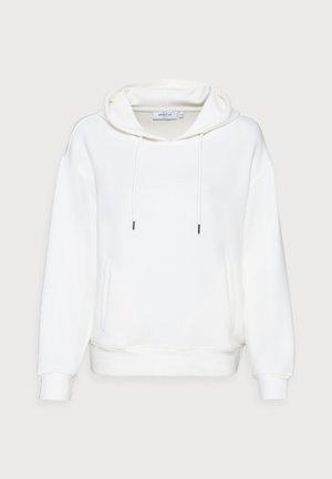 LOGO HOOD  - Sweatshirt - egret