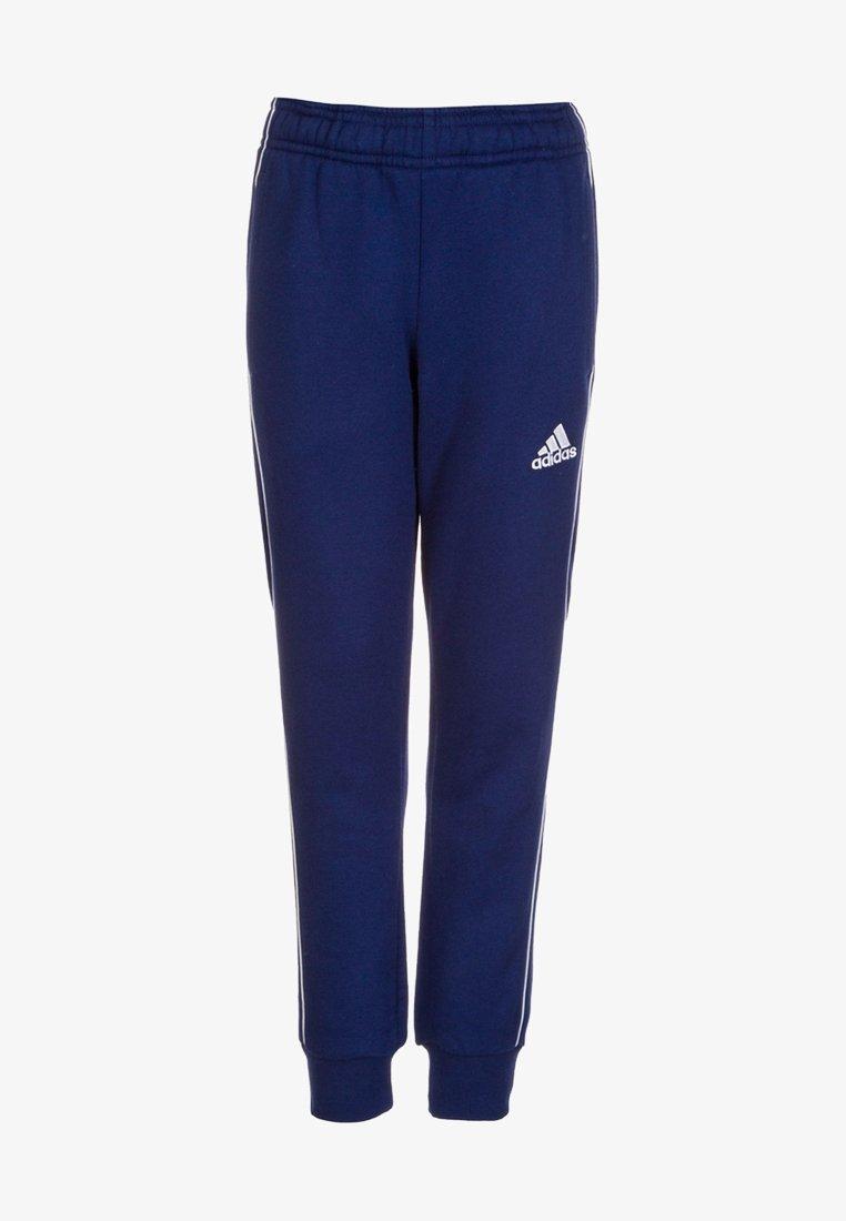 adidas Performance - CORE - Tracksuit bottoms - dark blue/white