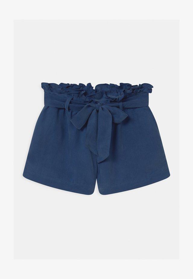 DRAPEY FIT  - Shorts - ocean blue