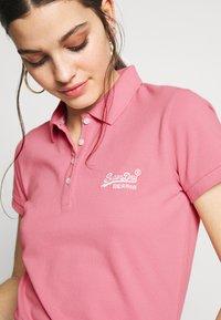 Superdry - Polo shirt - soft pink - 3