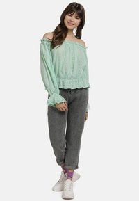 myMo - BLUSE - Blouse - mint - 1
