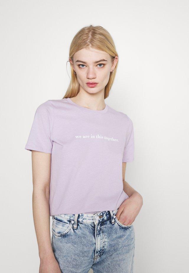 IDA TEE - T-shirt print - lavender