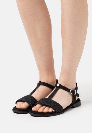 MOA T-STRAP - Sandals - black