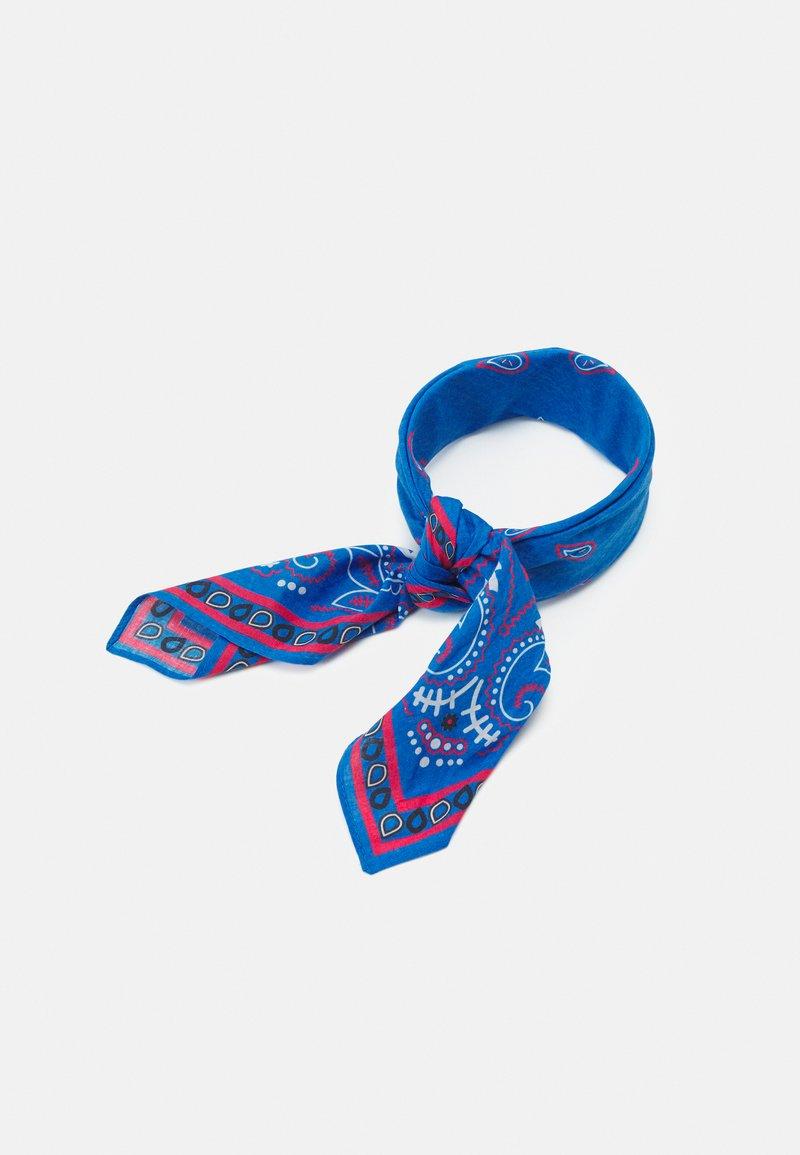 Mennace - PAISLEY PRINT BANDANA UNISEX - Foulard - blue