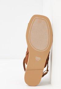 TOMS - FREYA - T-bar sandals - tan - 6