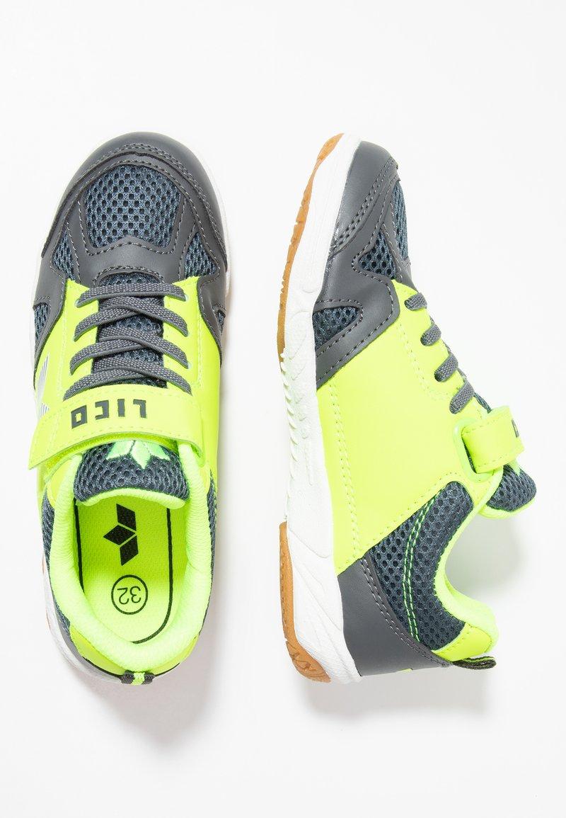 LICO - SPORT - Trainers - anthrazit/lemon