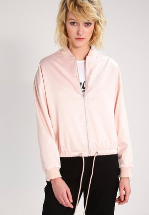 Bomber bunda - light pink
