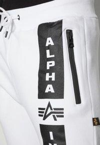 Alpha Industries - Verryttelyhousut - white - 4