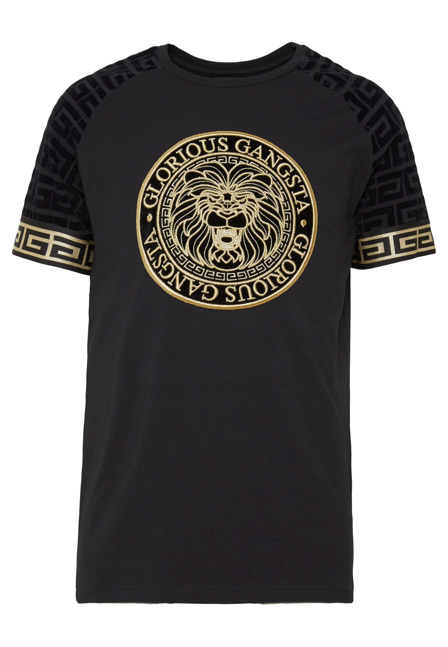 Glorious Gangsta NAPOLI T shirts med print blacksvart