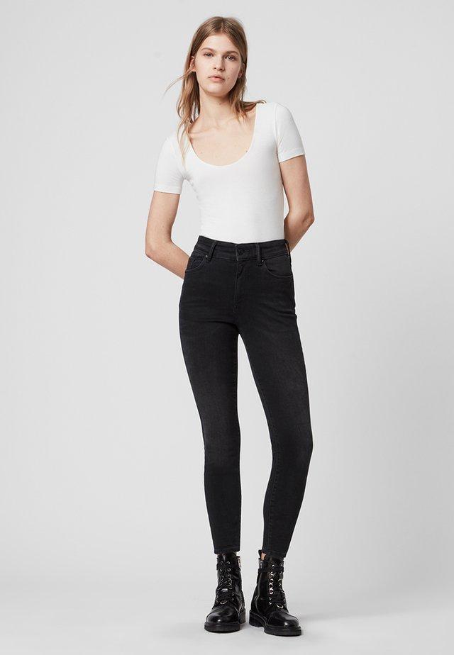 PHOENIX - Jeans Skinny Fit - black