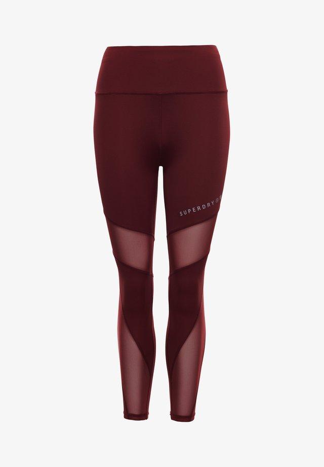 Leggings - Trousers - claret
