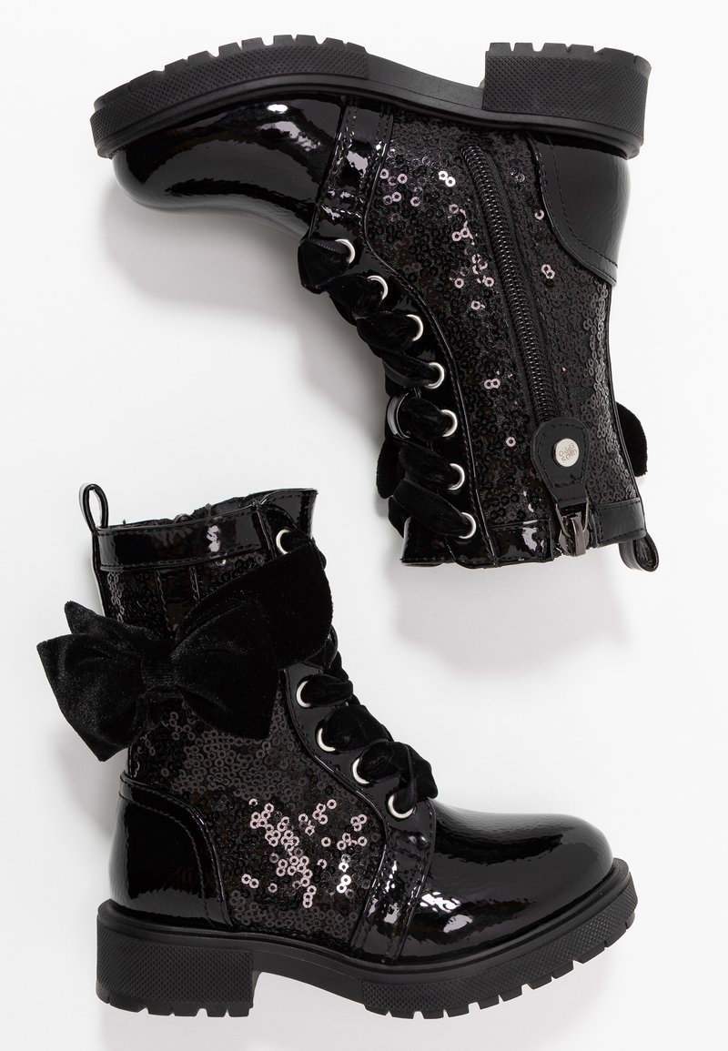 Gioseppo - Lace-up ankle boots - black
