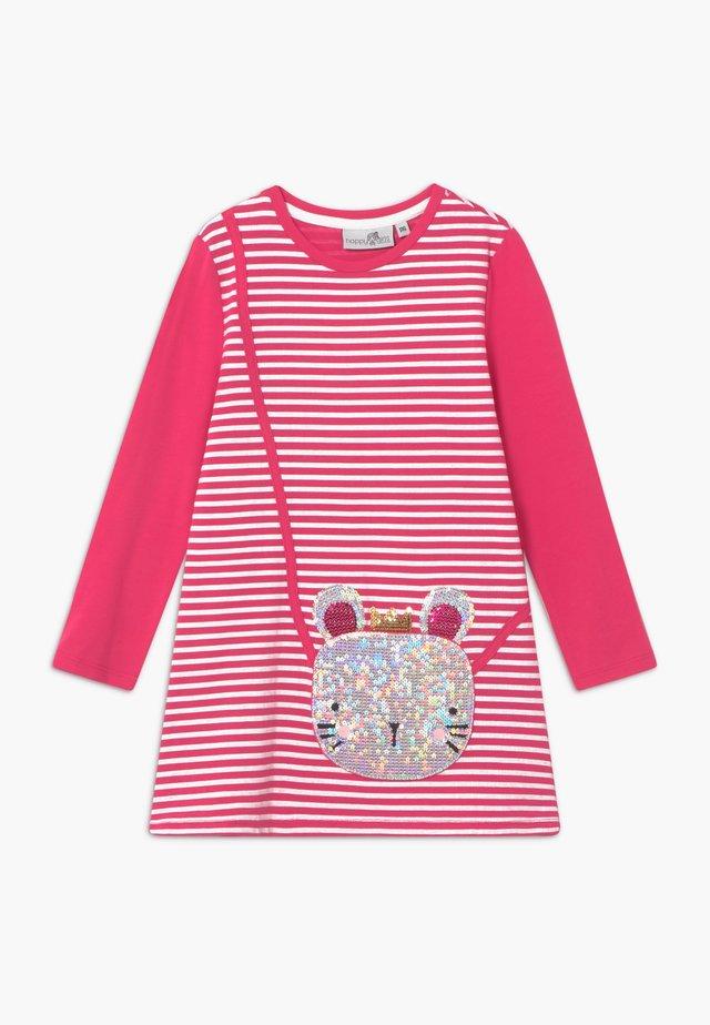 Jerseykjole - pink