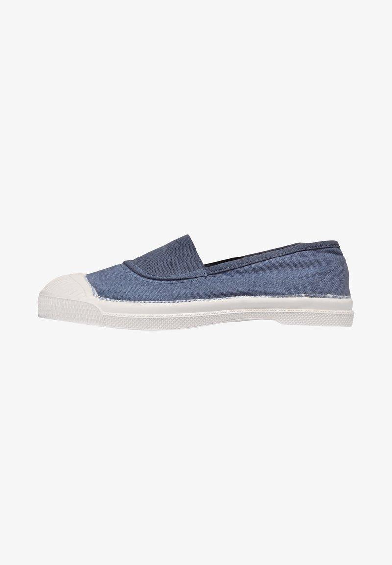 Bensimon - ELASTIC - Slip-ons - blue denim