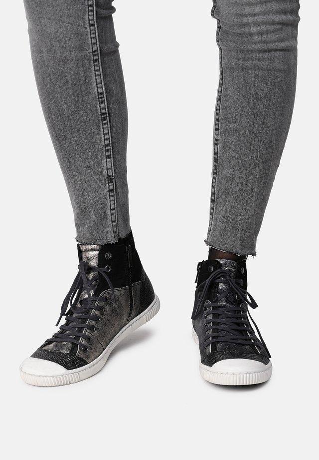 BANJOU - SNEAKER - Sneakers hoog - grey