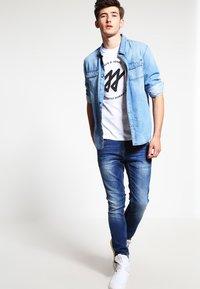 Blend - Slim fit jeans - blue denim - 1