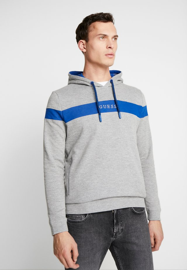 HOODIE - Hoodie - grey/blue