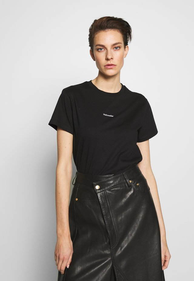 IDENTITY TEE - Basic T-shirt - black