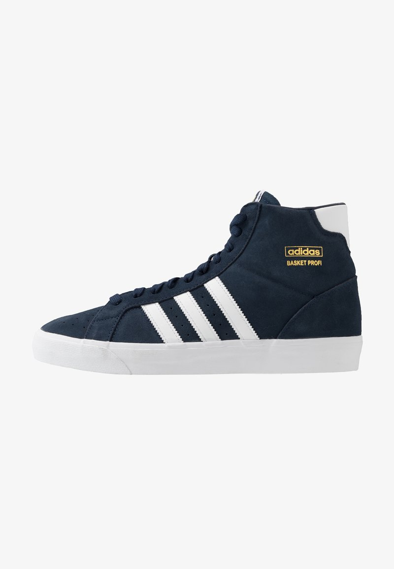 adidas Originals - BASKET PROFI - Zapatillas - navy/footwear white/gold metallic