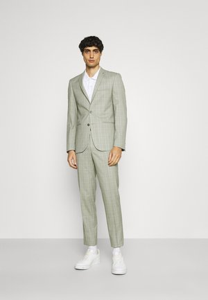 SVENSKT SLIM SUIT - Traje - light grey