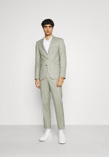 SVENSKT SLIM SUIT - Kostym - light grey