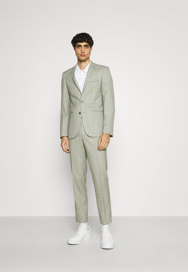 SVENSKT SLIM SUIT - Suit - light grey