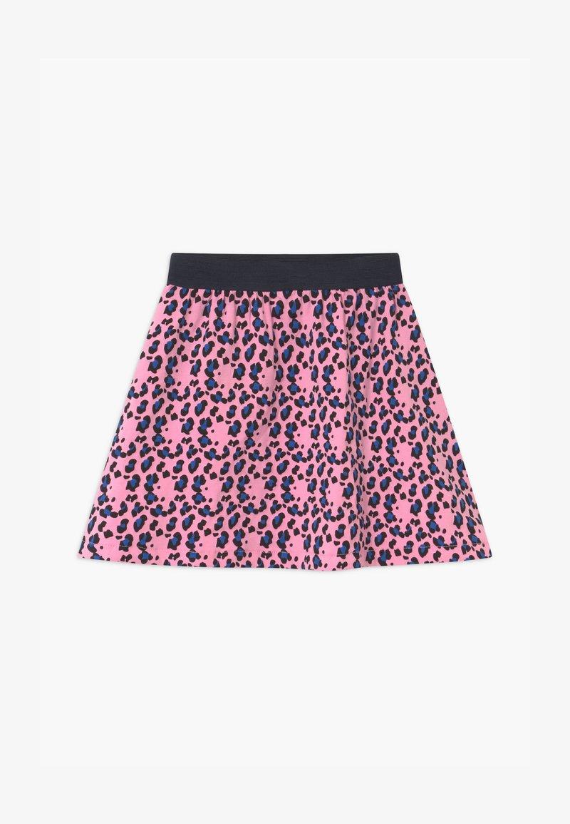 Lemon Beret - SMALL GIRLS - A-line skirt - prism pink