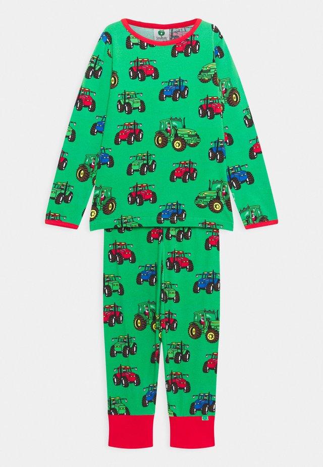 NATTØJ MED TRAKTOR SET - Pyjamas - green