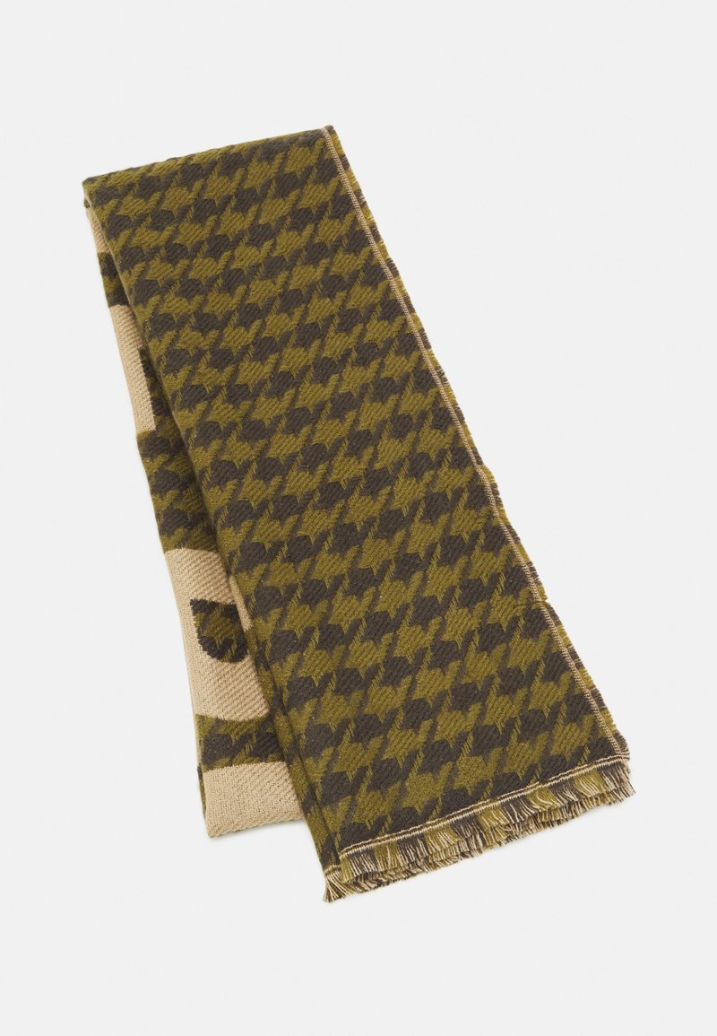 Codello - LOVE PIECE DOGTOOTH - Scarf - olive