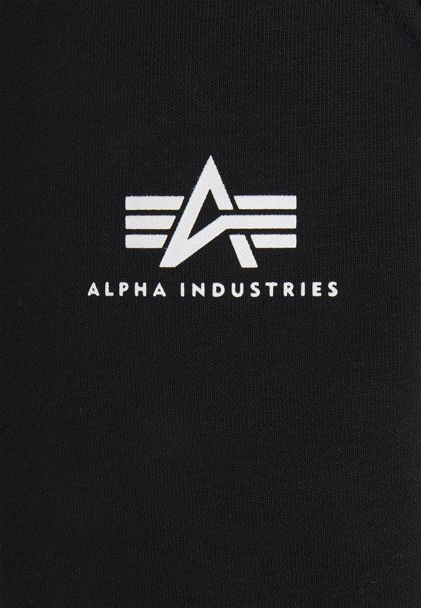 Alpha Industries BASIC - Spodnie treningowe - black/czarny Odzież Męska IIDT