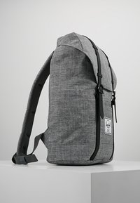 Herschel - RETREAT - Rucksack - raven crosshatch / black rubber - 3