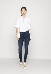 Diesel - SLANDY LOW - Jeans Skinny Fit - indigo - 1