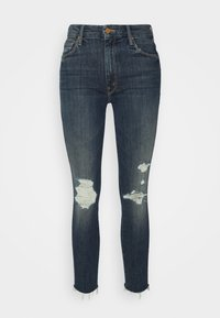 HIGH WAISTED LOOKER ANKLE FRAY - Jeans Skinny Fit - wicked wildflowers