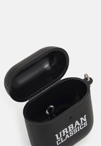 Urban Classics - EARPHONE CASE NECKLACE UNISEX - Technické doplňky - black - 2