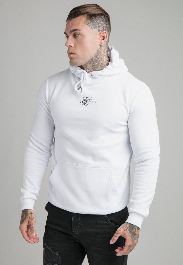 CORE HOOD - Sweater - white